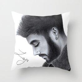 Zayn Malik Throw Pillow