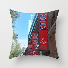 Red Sox - 2013 World Series Champions!  Fenway Park Throw Pillow
