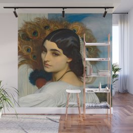 "Frederic Leighton ""Pavonia"" Wall Mural"