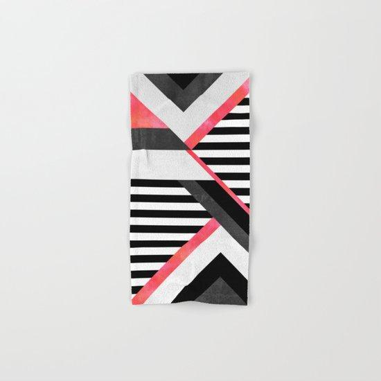 Stripe Combination / Pink Hand & Bath Towel