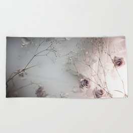 // ROSE GARDEN // Beach Towel