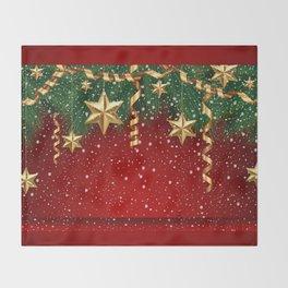 Christmas shopwindow Throw Blanket