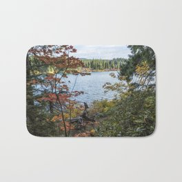 Splashes of Color Around Clear Lake Bath Mat