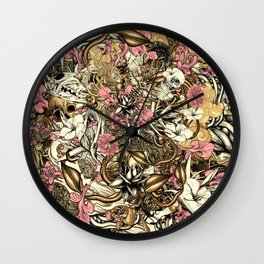Sixth Mix Wall Clock