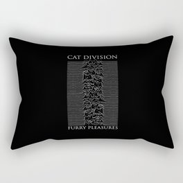 Cat Division Serif Rectangular Pillow