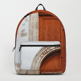 Liberty, equality and fraternity Backpack