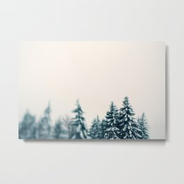 Forest and Friends Metal Print