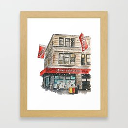 Strand bookstore   NYC Framed Art Print
