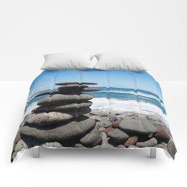 Rock tower Comforters