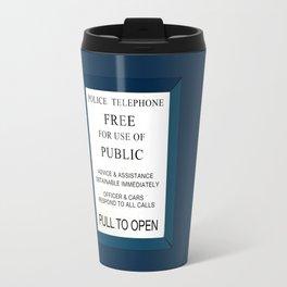 Doctor Who (Tardis Door) Police Box Travel Mug