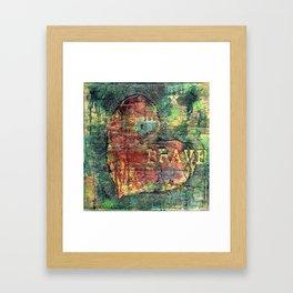 Permission Series: Brave Framed Art Print