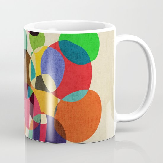 Happy flowers in the vase Mug