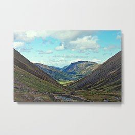 Ullswater valley Metal Print