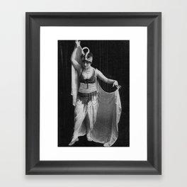 """Iconic Images: """"Cooch Dancer"""" Framed Art Print"""