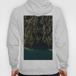 Calm Autumn Forest at a Lake Hoody