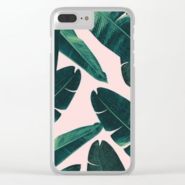 Banana Leaves - Cali Vibes #1 #tropical #decor #art #society6 Clear iPhone Case