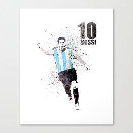 Sports art - World cup Argentina Canvas Print
