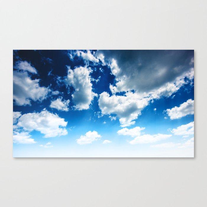 blue sky Leinwanddruck