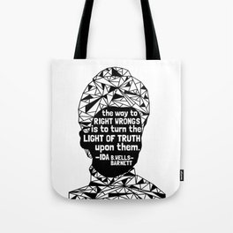 Ida B. Wells-Barnett - Black Lives Matter - Series - Black Voices Tote Bag