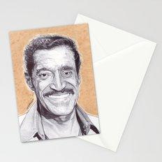 Sammy Davis Jr Pen Drawing  Stationery Cards
