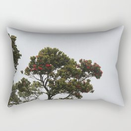 Lehua i ka pōuli o uka Rectangular Pillow