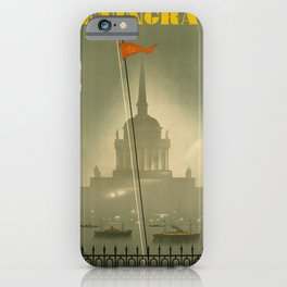leningrad. 1935  oude poster iPhone Case
