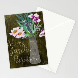 Mon Jardin Parisien Stationery Cards