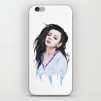 charli xcx iPhone & iPod Skins featuring Charli XCX Slime by firemylions
