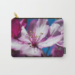 The Pink Flower Carry-All Pouch