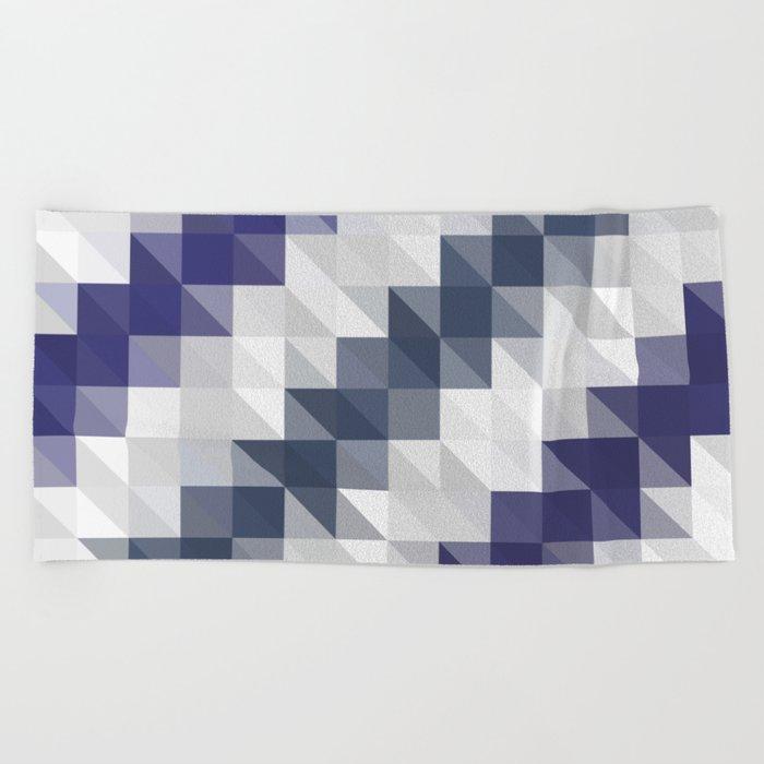 Funky Triangles Beach Towel