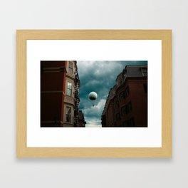 Ballo0n. Framed Art Print