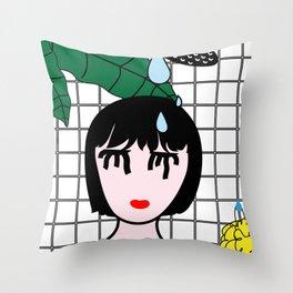 Showertime Throw Pillow