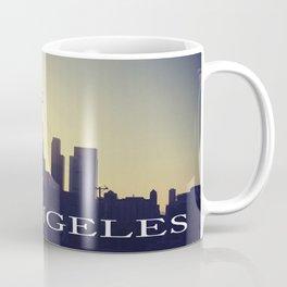 Downtown LA Sunset Coffee Mug