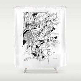 Graphics 014 Shower Curtain