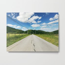 Towards • Appalachian Trail Metal Print