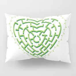 Lost in the Love Maze Pillow Sham