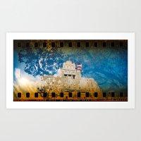 Hot Springs Rehab Blossom Art Print