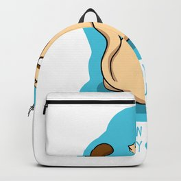 Look in my eyes and say you love me Backpack