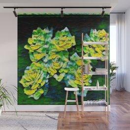 Floral Embosses: Roses 04-02 Wall Mural