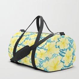 Hibiscus jungles Duffle Bag