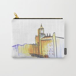 simple London on white background Carry-All Pouch
