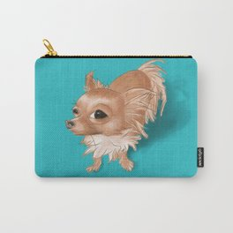 Suspicious Chihuahua Carry-All Pouch