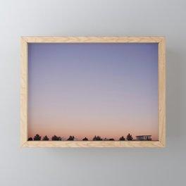 Dreaming in Marathon, Texas Framed Mini Art Print