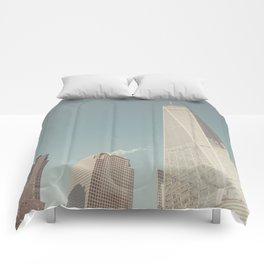 World Sky - New York City Comforters