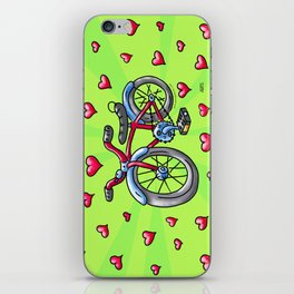Bike Love iPhone Skin