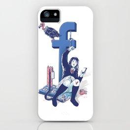 F book iPhone Case
