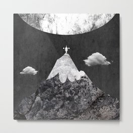 move any mountain Metal Print