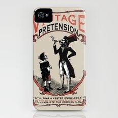 Ye Oldé Vintage Pretension Slim Case iPhone (4, 4s)