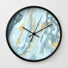 Winter Marble #society6 #buyart #decor Wall Clock