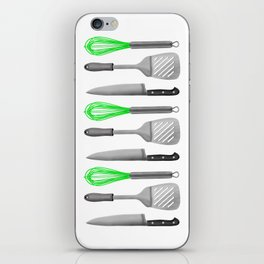 Kitchen Utensils iPhone Skin